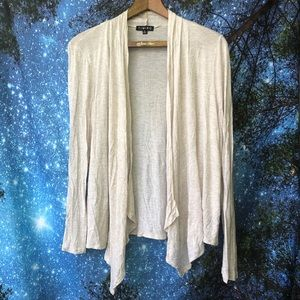 Timing brand open front cardigan